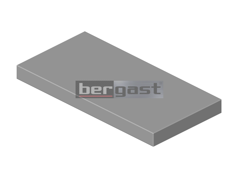 Tischplatte 300 x 600 x 50 mm