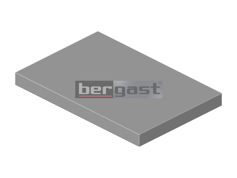 Tischplatte 400 x 600 x 50 mm