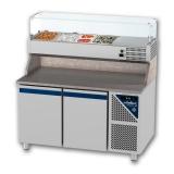 Pizzavorbereitungstisch 1500 x 800 x 850 / 1550 mm