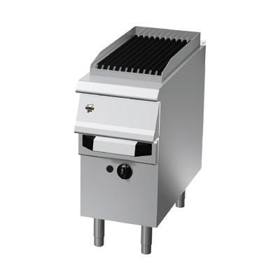 Elektro-Dampfgrill 400 x 730 x 870 mm