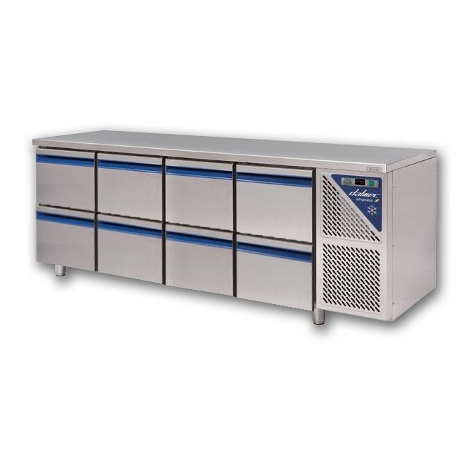 Kühltisch 2180 x 700 x 850 mm