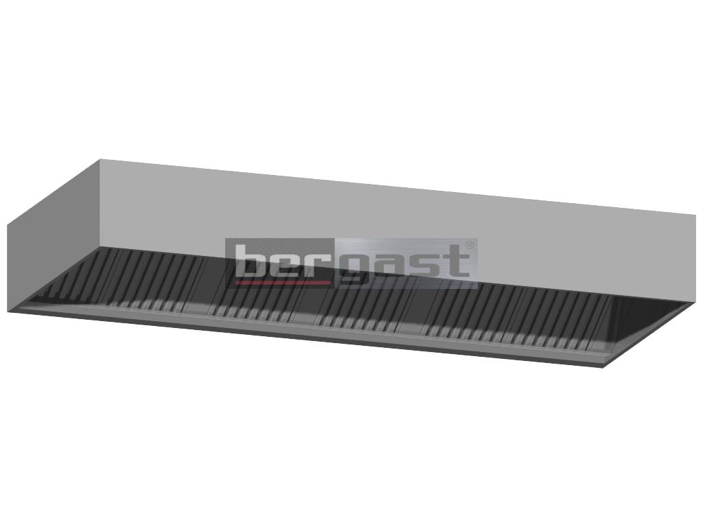 UV-C Wandkastenhaube 2800 x 1200 x 400 mm